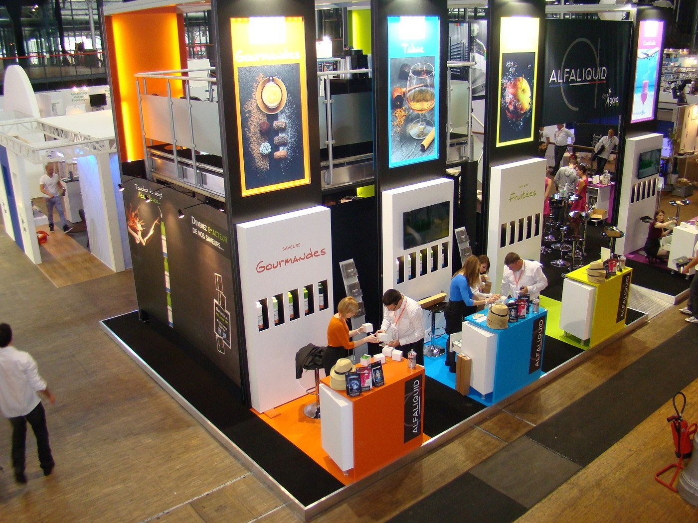 Stand alfaliquid salon vapexpo